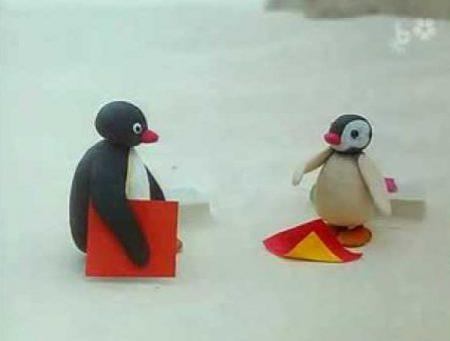 Pingu – Op school