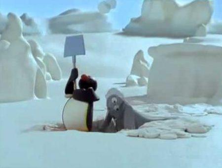 Pingu – Pingu graaft een gat