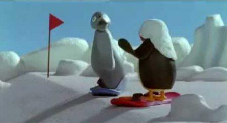 Pingu – Snowboarden