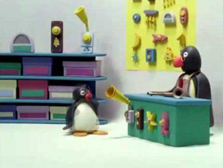 Pingu – En de deurbel