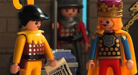 Playmobil – De zwarte ridder (Stop motion)