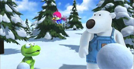 Pororo – De grootste sneeuwpop