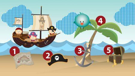 Bolly the Bird – Tellen met Piraten