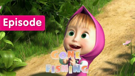 Masha en de Beer – Gone Fishing!