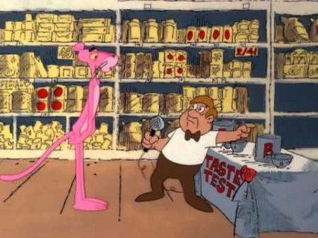 De Roze Panter – Supermarket Pink