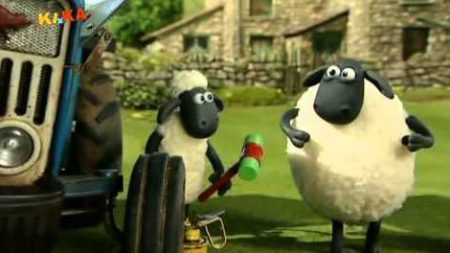 Shaun the sheep – Troublesome Tractor