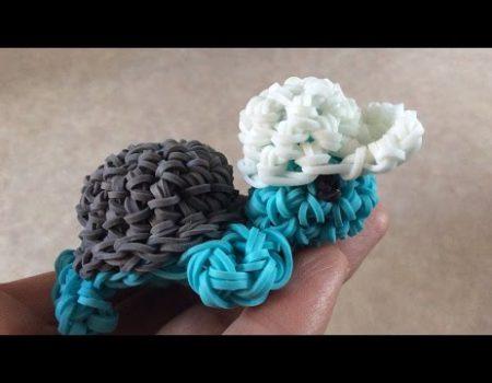 Loom voorbeelden – 3D Schildpadje Amigurumi Deel 2