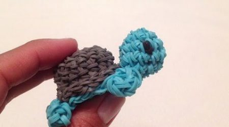 Loom voorbeelden – 3D Schildpadje Amigurumi Deel 1