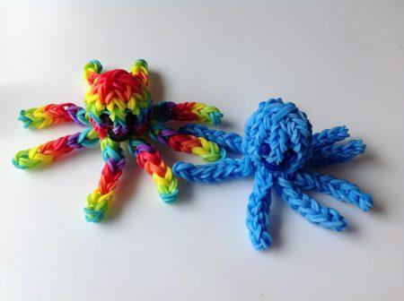 Loom voorbeelden – 3D Octopus