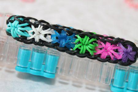 Loom voorbeelden – Starburst Armband