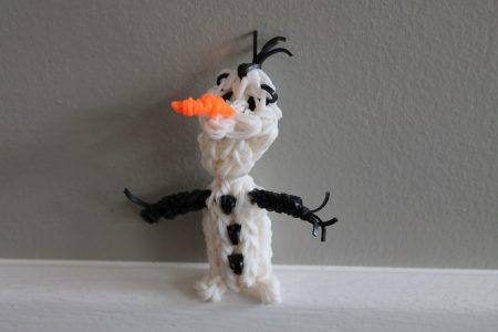 Loom voorbeelden – Olaf 3D – deel 1