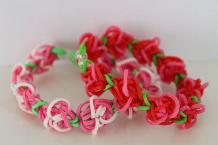 Loom voorbeelden – Rosegarden Armband