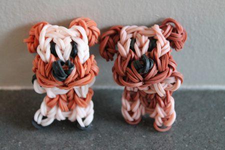 Loom voorbeelden – Staand Hondje