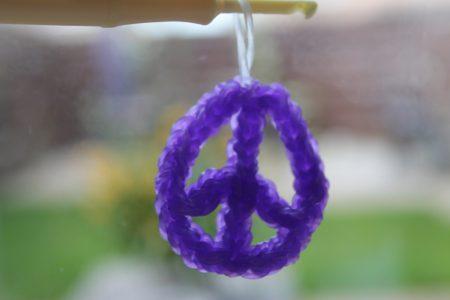Loom voorbeelden – Peace Teken