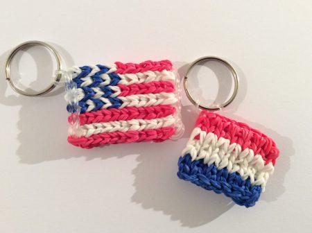 Loom voorbeelden – Mini Vlag