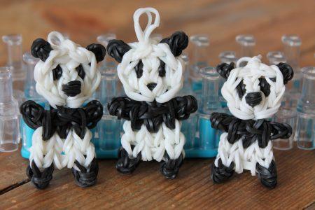 Loom voorbeelden – Pandabeertje