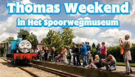 Thomas de trein – Het Spoorwegmuseum in Utrecht