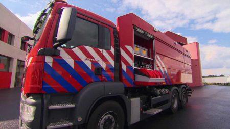 Tankwagens van Brandweer Drenthe