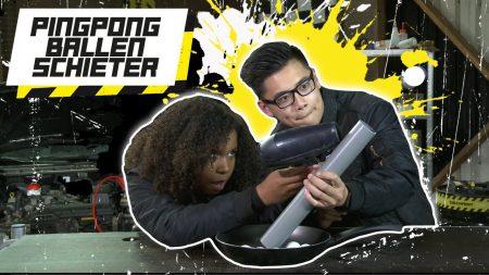 Checkpoint – Pingpong Ballen Schieter