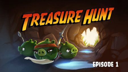 Angry Birds – Treasure Hunt