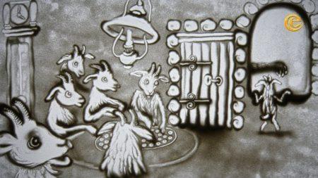 Sprookjes Van Klaas Vaak – De Wolf en de Zeven Geitjes