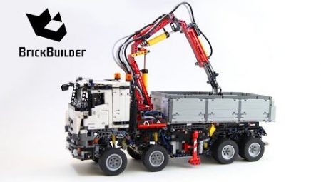 Lego Technic 42043 Mercedes-Benz Arocs 3245 – Lego Speed Build