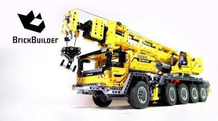 Lego Technic 42009 Mobile Crane MK II – Lego Speed Build