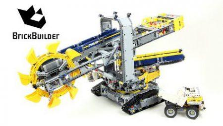 Lego Technic 42055 Bucket Wheel Excavator – Lego Speed Build