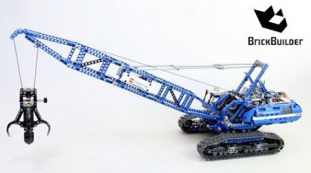 Lego Technic 42042 Crawler Crane – Lego Speed Build