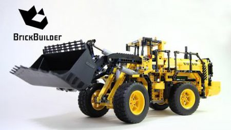 Lego Technic 42030 VOLVO L350F Wheel Loader – Lego Speed Build
