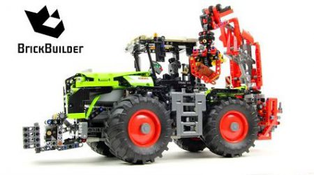 Lego Technic 42054 CLAAS XERION 5000 TRAC VC – Lego Speed Build