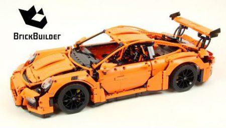Lego Technic 42056 Porsche 911 GT3 RS – Lego Speed Build