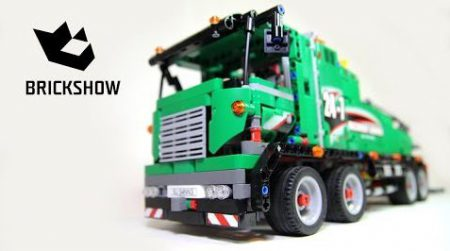 Lego Technic 42008 Service Truck – Lego Speed Build