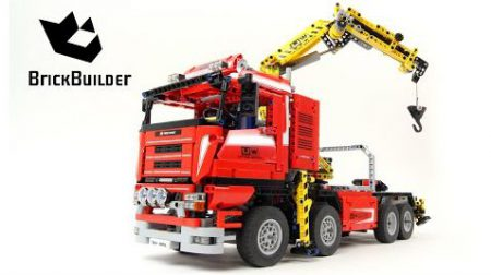 Lego Technic 8258 Crane Truck – Lego Speed Build
