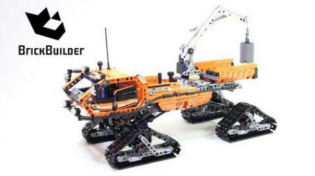 Lego Technic 42038 Arctic Truck – Lego Speed Build