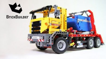 Lego Technic 42024 Container Truck – Lego Speed Build