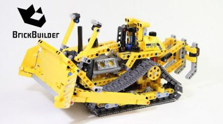 Lego Technic 42028 Bulldozer – Lego Speed Build