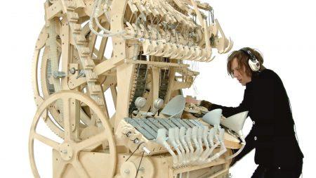 Muziek Uit Een Knikkerbaan Machine