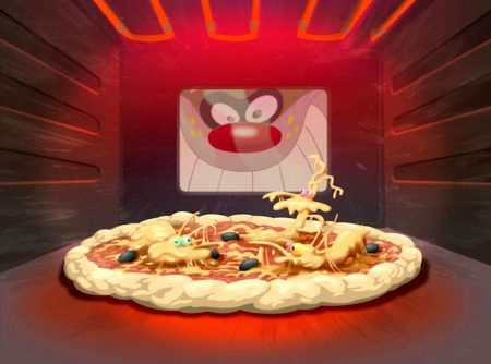 Oggy en de Kakkerlakken – Fancy a pizza?
