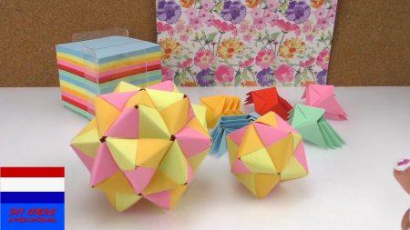 3D Ster Van Papier Knutselen