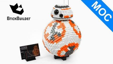 Lego Star Wars BB-8 – Lego Speed Build