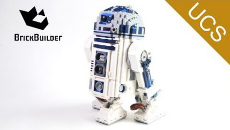 Lego Ultimate Collector Series 10225 R2-D2 – Lego Speed Build