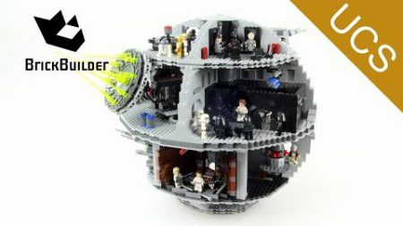 Lego UCS Star Wars 75159 Death Star – Lego Speed Build
