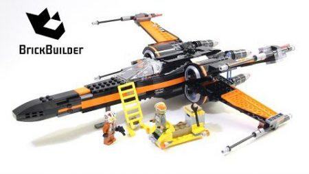 Lego Star Wars 75102 Poe's X-Wing Fighter – Lego Speed Build