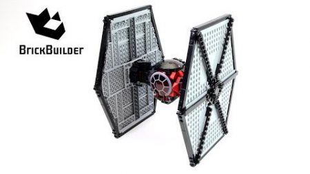 Lego Star Wars 75101 TIE fighter – Lego Speed Build
