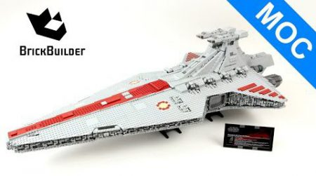 Lego MOC Star Wars UCS Venator Star Destroyer – Lego Speed Build