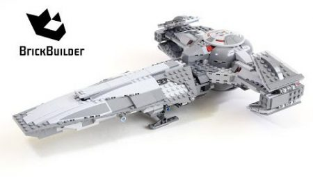 Lego Star Wars 75096 Sith Infiltrator – Lego Speed Build