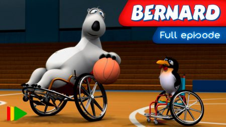 Bernard – Rolstoel Basketbal