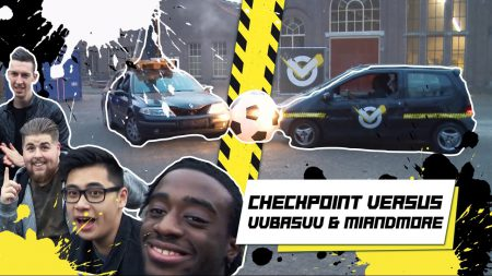 Checkpoint – XL Voetballen Met Auto's