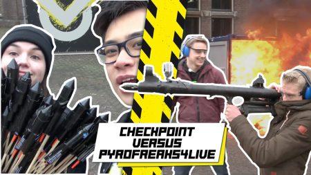 Checkpoint – Schieten Met Een Vuurwerkbazooka!!